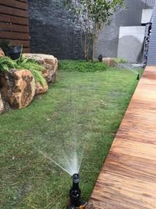 自動噴灌系統規劃,施工